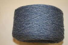 100 g balls 100% Merino 2ply Yarn – Blue/Grey Marl