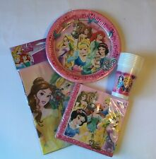 Disney Princess Party Supplies Tableware Bundle