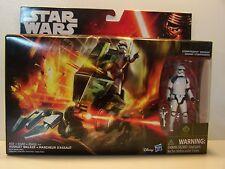 Star Wars Assault Walker and Stormtrooper Sergeant The Force Awakens MIB 2015