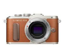 Olympus PEN E-PL8 Mirrorless Micro Four Thirds Digital Camera(Brown) - Body Only