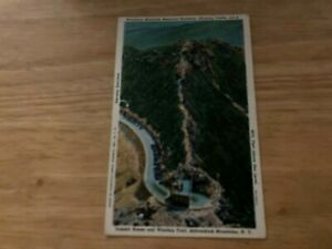 1949 Linen PC: Whiteface Mountain Memorial HWY Summit House & Castle NY