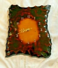Vintage Lacquered Wood Clock Room Wall Clock (A024)