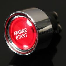 Universal Car Auto Red Engine Ignition Button Starter Push Start Power Switch HC