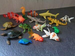 Sea Creatures Bundle Small Toys Sea Horse Turtles Fish Goldfish Water Toys