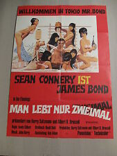 JAMES BOND 007 - MAN LEBT NUR ZWEIMAL Filmplakat Poster SEAN CONNERY - WA (#3)
