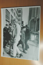 JOHNNY HALLYDAY SYLVIE VARTAN NEW YORK 1968 VINTAGE PHOTO ORIGINAL #1 28x35cm