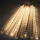 80/144/240 LED Meteor Shower Rain Drop Icicle Snow LED String Light Fairy Lamps