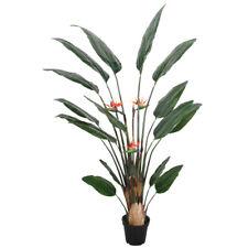 120cm Kunst Paradiesvogelblume Deko Blume Künstliche Strelitzie KUMBIA