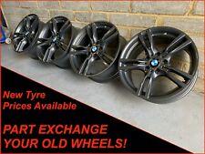 """Genuine 18"""" BMW 3 Series 4 Series 1 Series 2 Series Z4 Grey 400M Alloy Wheels"""