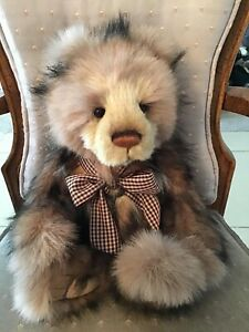 """RUSSELL CHARLIE BEARS 2021 PLUSH BEAR  * 14""""  NEW WITH TAGS"""