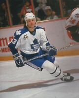Doug Gilmour Toronto Maple Leafs Unsigned 8x10 Photo (C)