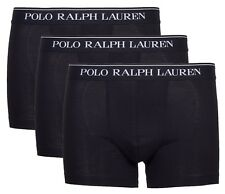Ralph Lauren 251U3PPT-BSHC2-A0001 Men's Polo Boxer, Size L, 3 Pack - Black