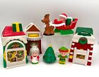 2002 FISHER PRICE LITTLE PEOPLE CHRISTMAS VILLAGE Complete