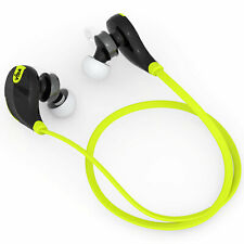 Inalámbrico Intraurales Bluetooth Auriculares Auriculares Auricular doble con Micrófono para Teléfono UK