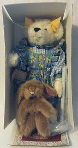"""BECKY"" 1996 Gallery Teddy Bears - New!"