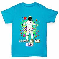 Twisted Envy Boy's Come At Me Bro Spaceman Funny T-Shirt
