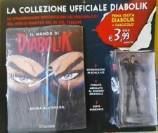 DIABOLIK Statua in resina scala 1:12 HACHETTE uscita N 1 MINT condition