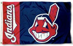FLAG 3X5 Cleveland Indians Baseball New Fast USA Shipping