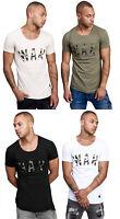 Herren T-Shirt Camouflage Shirt Kurzarm Printshirt Polo Kurzarm 17040 John Kayna