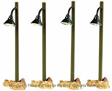 Lemax 54362 RUSTIC STREET LAMP 4 Lights Lighted Accessories Village S O New I