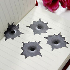 Hot Bullet Hole Orifice Sticker Graphic Decal Shot hole Car Auto Helmet Window