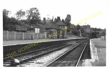 Tenbury Wells Railway Station Photo. Newnham Bridge - Easton Court. (7)