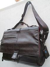 -AUTHENTIQUE (réf : BA 1297) sac de voyage PIQUADRO cuir  TBEG vintage bag