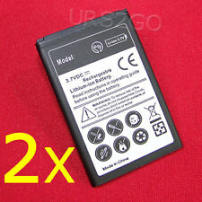 New 2X 3000mAh Extended Slim Battery F Boost Mobile LG Venice LG LG730 Cellphone