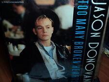 """Jason Donovan """"Too Many Broken Hearts"""" Great Oz PS 7"""""""