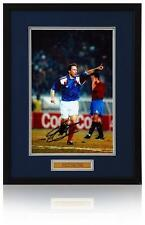 Jean-Pierre PAPIN main signé 12x8 France photographie Aftal photo preuve COA