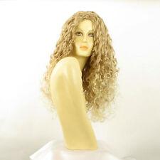 Perruque femme longue blond méché blond très clair EVA 15t613