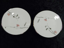 ROSENTHAL CONTINENTAL JAPANESE QUINCE PATTERN (2) BREAD & BUTTER PLATES
