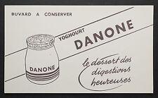 BUVARD PUBLICITAIRE ANCIEN : DANONE