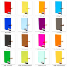 4pcs Acrylic Plexiglass Tinted Sheets in 900*600*3.0mm, Optional in 16 Colors!