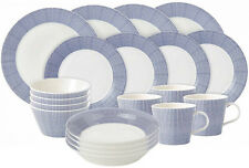 ROYAL DOULTON PACIFIC 20 PIECE DINNER SET (DOTS) - NEW/UNUSED