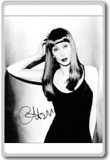 Cher Autographed Preprint Signed Photo Fridge Magnet