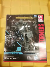 Transformers Studio Series Blackout Leader Class NEW FREE SHIP US