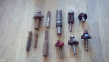 Router Bits used/mixed