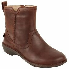 """Flat 0 to 1/2"""" Women's Leather Boots"""