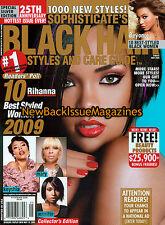 Soph Black Hair 5/09,Rihanna,May 2009,NEW