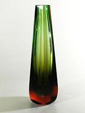 WMF Glas ° Blockvase ° Farbverlauf ° Design Erich Jachmann ° (6)
