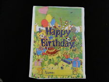 24 X JUNGLE DESIGN PARTY LOOT BAGS *HAPPY BIRTHDAY*