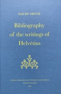 Smith, Bibliography of the writings of Helvétius