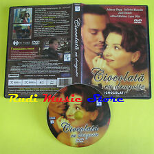 DVD film CHOCOLAT CIOCOLATA CU DRAGOSTE 2000 JOHNNY DEPP BINOCHE no mc lp (D1)