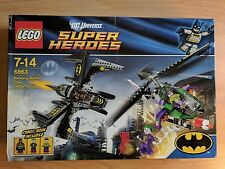 LEGO DC COMICS SUPER HEROES - BATWING BATTLE OVER GOTHAM CITY 6863 - SEALED NEW