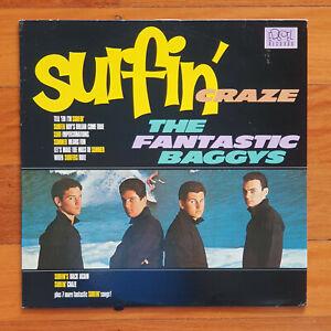 SURFING SURF VINYL LP SURFIN' CRAZE THE FANTASTIC BAGGYS 1983