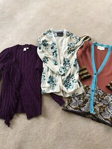 Lot of 3 Anthropologie Cardigans, Size XS, NWOT and EUC!!-GORGEOUS Sweaters!