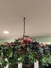 Custom Hanging Display Fruit Artwork * Brass Buckets *