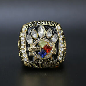 Hines Ward - 2005 Pittsburgh Steelers Super Bowl Championship Ring Replica