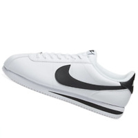 NIKE MENS Shoes Classic Cortez Leather - White & Black - 819719-100